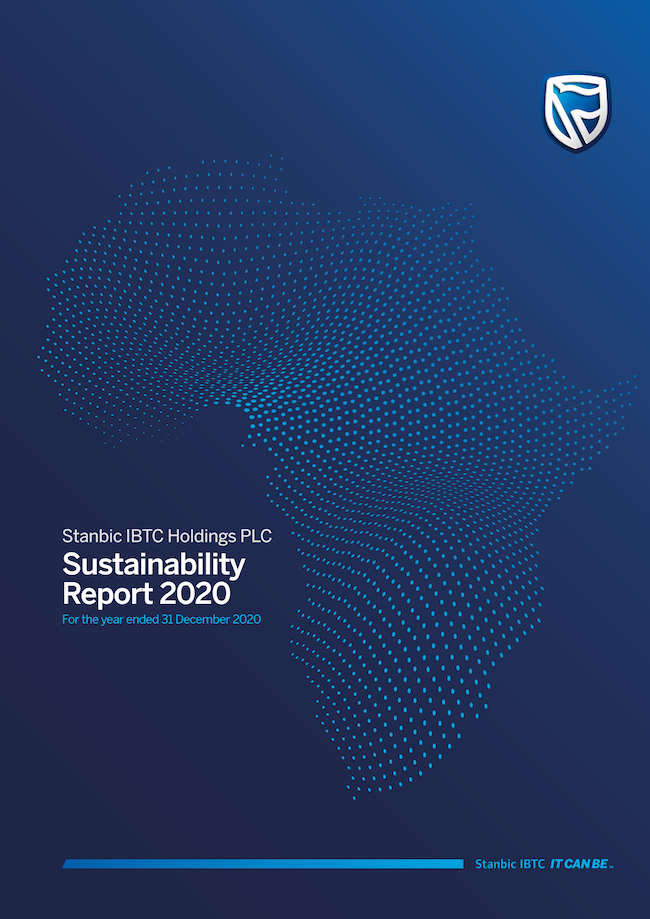Stanbic IBTC Showcases Impressive Environmental, Social, Governance (ESG) Performances In 2020 Sustainability Report