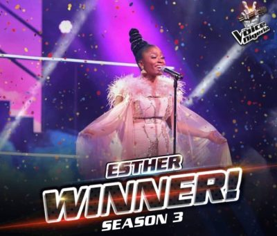 Esther Benyeogo Crowned Winner of The Voice Nigeria 2021