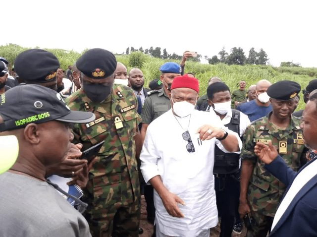 Imo State Govt Hands over Operational Base To Nigeria Navy