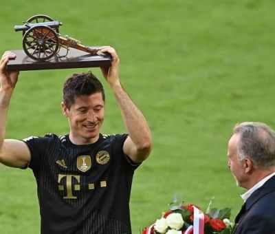 Lewandoski Voted German Footballer Of The Year