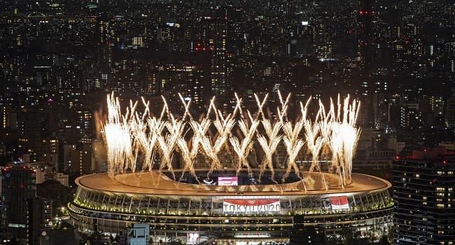 Naomi Osaka Lights Tokyo Olympic Cauldron