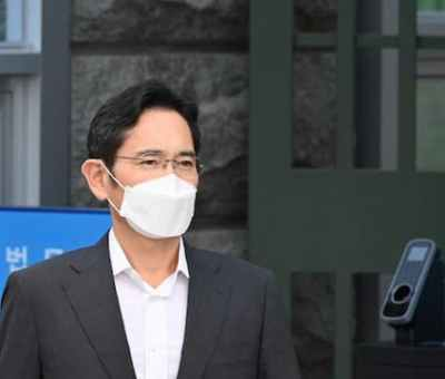 Head Of Samsung Group Released From Jail On Parole