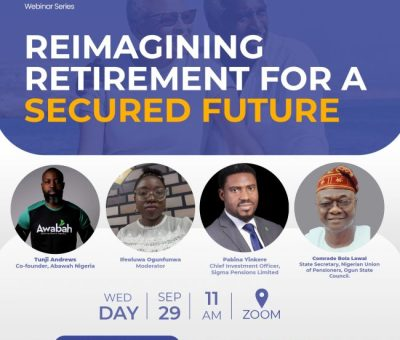 If You're Serious About Retirement, Pension Comes First - Tunji Andrews