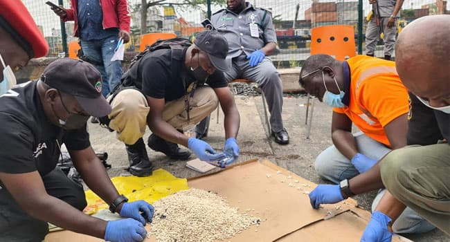 Customs, NDLEA, DSS Seize Cartons Of Hard Drug At Appa Port