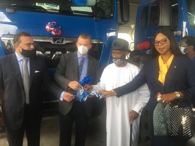 Heritage Bank, Others Bankroll SCOA Handover Of Trucks, Equipment To Julius Berger Worth ₦15.5bn
