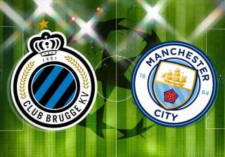UEFA Champions League: Club Brugge vs Man City Official Line-Ups