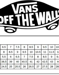 Vans size charts dolap magnetband co also aksuy  eye rh