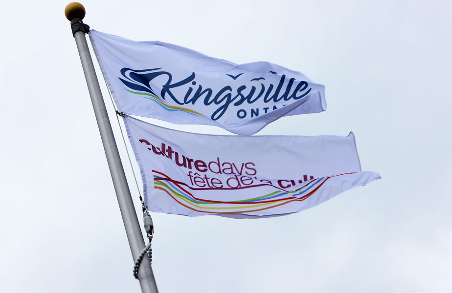 KINGSVILLE RAISES FLAG ONTARIO CULTURE DAYS