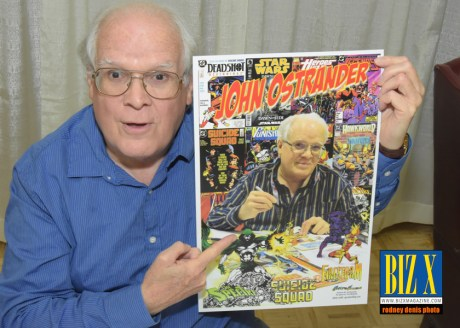 John Ostrander (iconic writer: Suicide Squad; Star Wars; Spectre; Punisher; Grimjack)