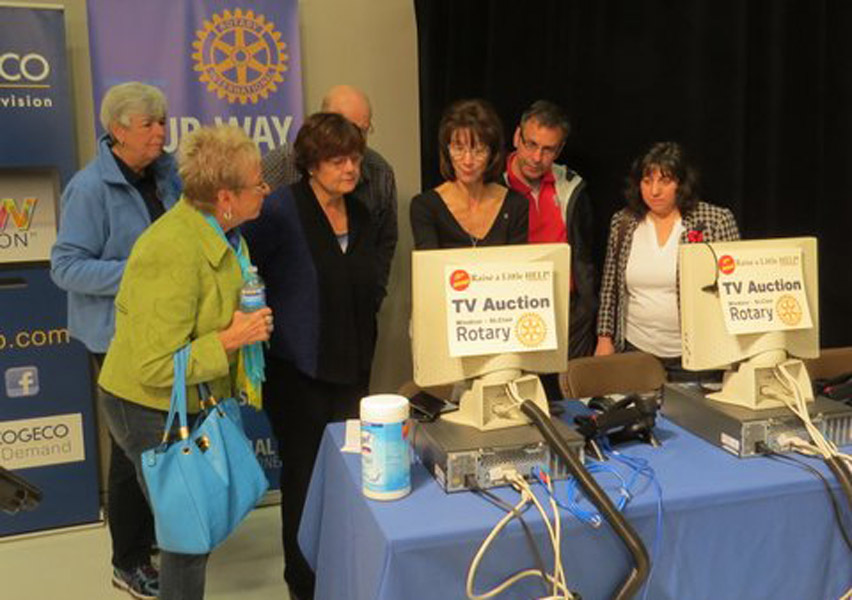 Welcome friends, grab yourself a 'Cup of Joe', pull up a chair and let's chat about the upcoming Rotary Club of Windsor – St. Clair Cogeco TV Auction