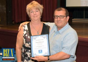 Volunteer of the Year Michael Mastronardi