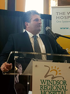 David Musyj, President & CEO, Windsor Regional Hospital