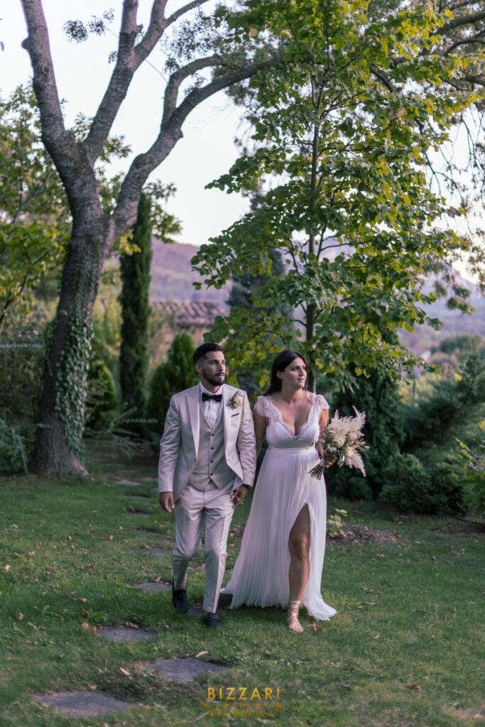 Séance de couple à la Villa Quélude