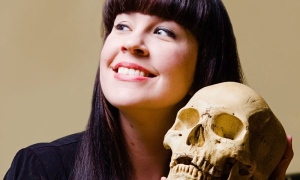 Death becomes her … mortician and activist Caitlin Doughty