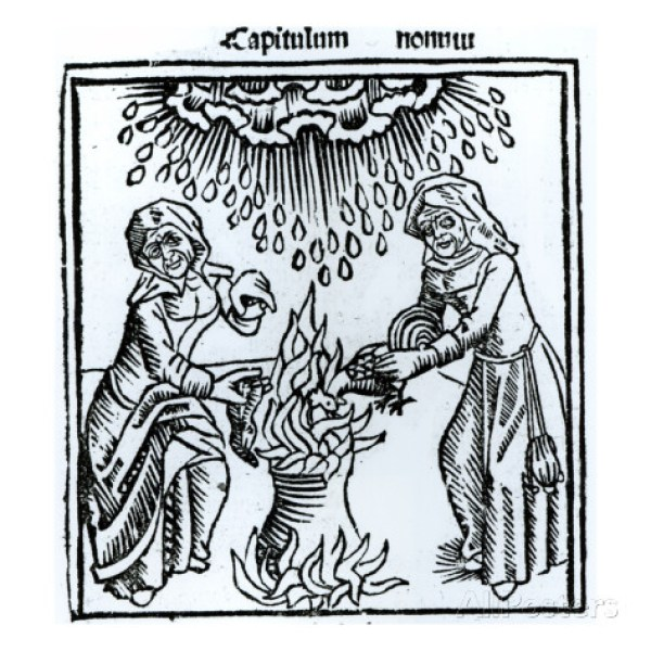 english-witches-making-a-spell-1489-engraving-b-w-photo