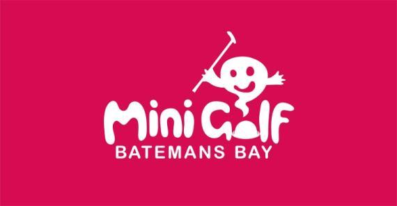 batemans bay mini golf logo design