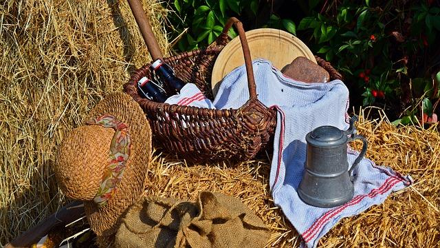 Lammas fête des moissons et des récoltes de la roue de l'année