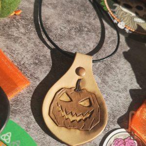 porte clés citrouille d'halloween