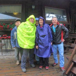 Dom planincev. Tu sme chceli prečkať začínajúci dážď.