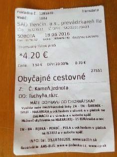 Duško ako grand zaplatil miestny autobus pre skupinku, ktorá už nešla do Lednice. Pre nás prišiel náš bus do Tuchyne, kde vznikla skoro družba medzi domácimi a nami ...