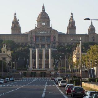 Múzeum Katalánska z Placa d'Espanya.