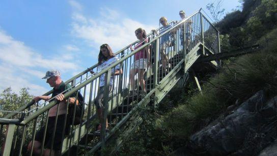 Prvé schody.
