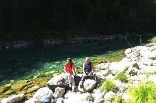 Pop nám poradil, aby sme zišli ešte 10 min k rieke Tare.