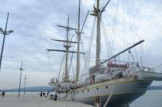 Najväčšia plachetnica na Jadrane.