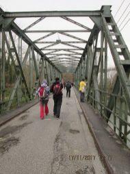 ... mostu Sv. Leopolda ponad riečku Melk.