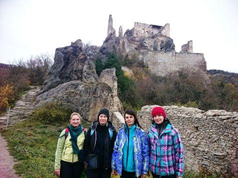 A opäť na hrade, ale už ideme na prehliadku mesta