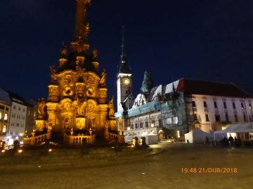 Horné námestie, Stĺp Najsvätejšej Trojice, UNESCO.