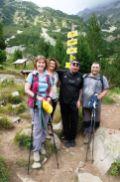 Nad chatou Vichren sme sa stretli s týmto Novozélanďanom, hráčom rugby, ktorý má manželku Bulharku a trávili tu dovolenku.