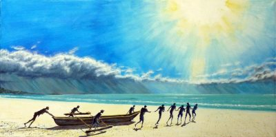 Indian-Ocean-Before-the-Storm-Acrylic-50x100cm
