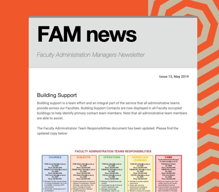 FAM News - May 2019