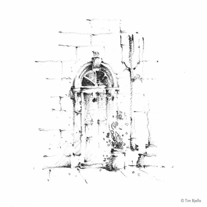 Tim Bjella Sketches - Italy