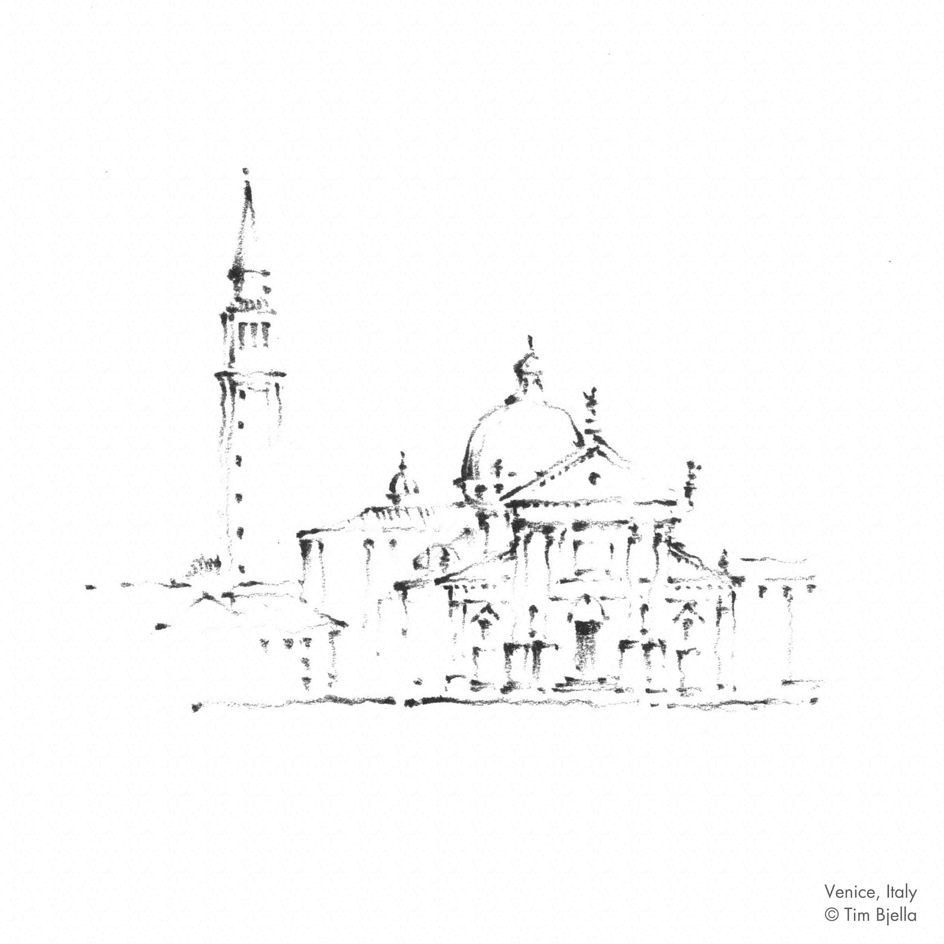 Tim Bjella Sketches - Venice