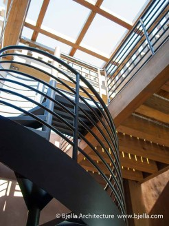 Spiral Stair Inside the Tower