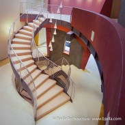 Modern Sculptural Winding Stair