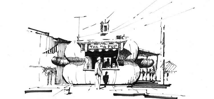 The End of an Era – Novelty Architecture sketches
