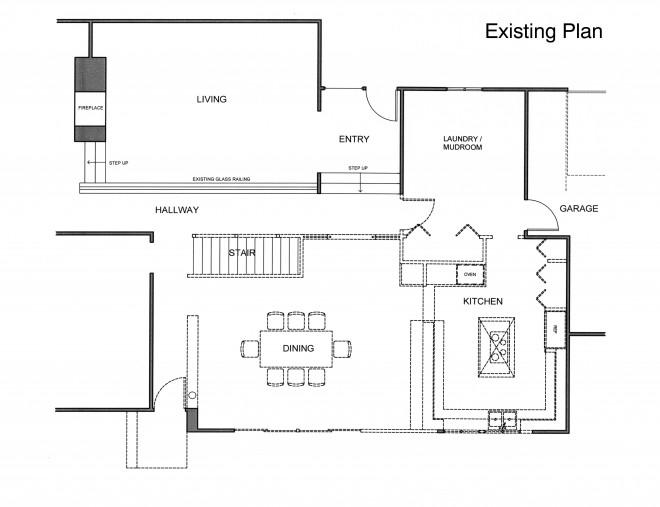 Kitchen Plan - Existing