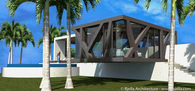Modern Glass Home in Kauai, Hawaii