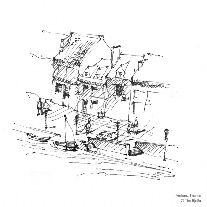 Tim Bjella Sketches - Amiens, France