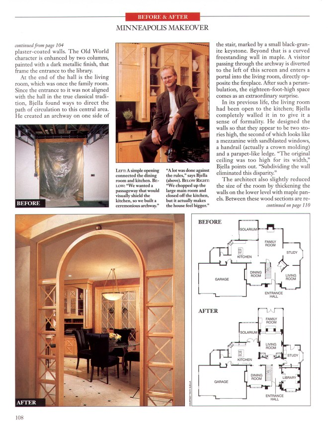 Arch Digest Article - Page 3 - Tim Bjella Arteriors Architects