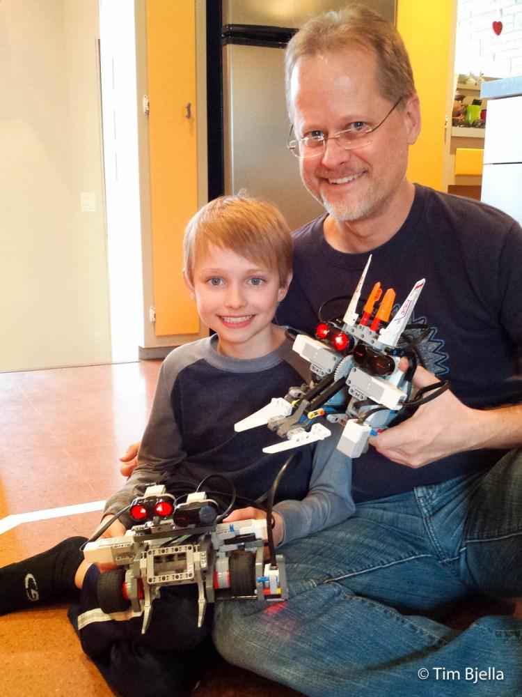 Lego Sumo Robot - Beck and TIm Bjella