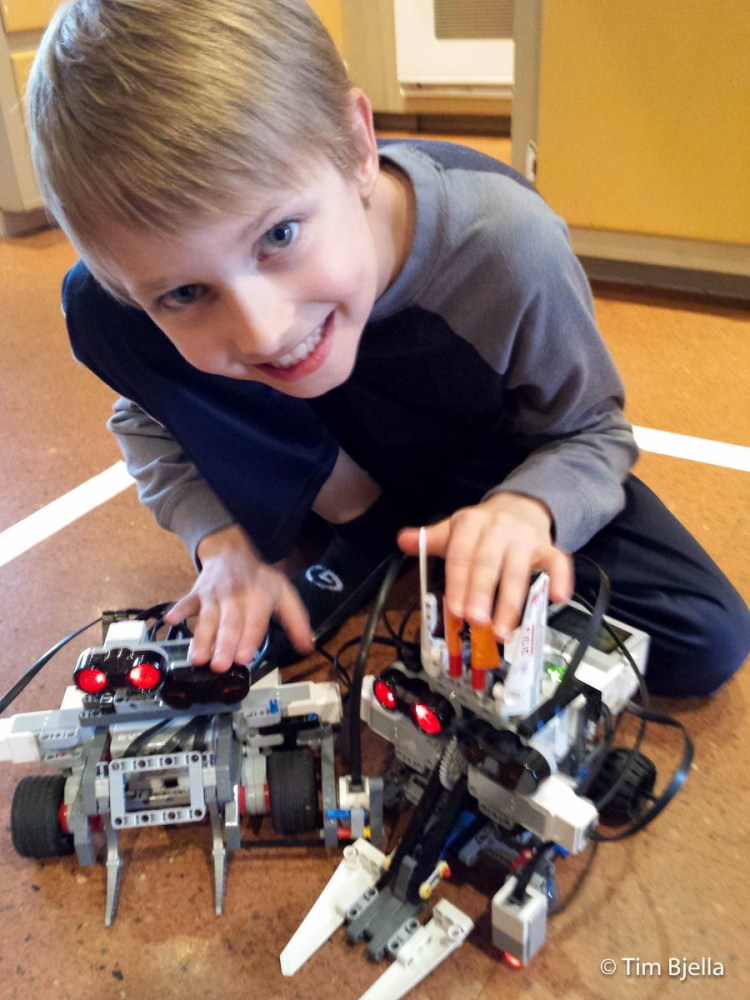 Lego Sumo Robot