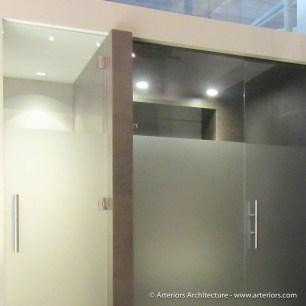 Minimal Bathroom Shower - Arteriors Architects