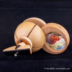 Beck Bjella Birth Ornament 2006 by Tim Bjella