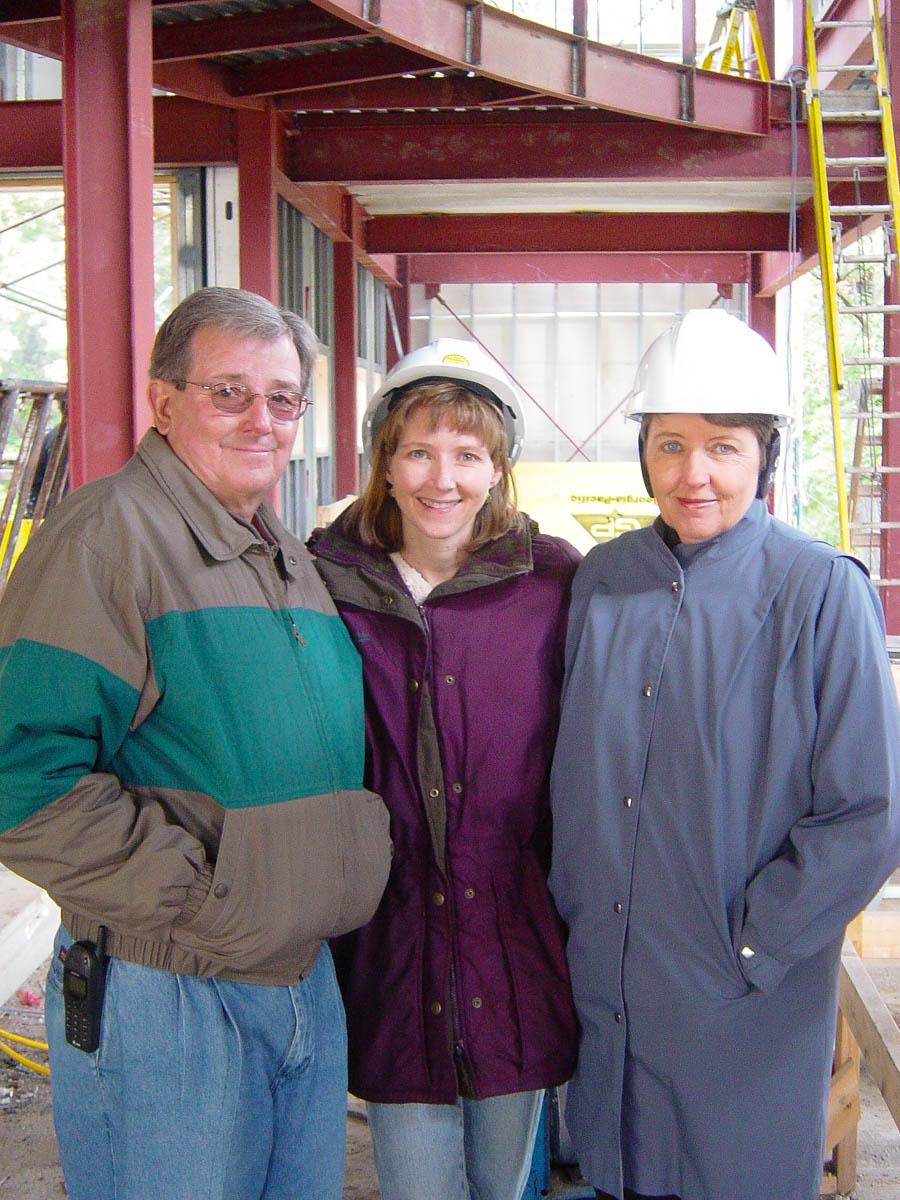 Harold, Robyn (Bjella) and Delila Schaible