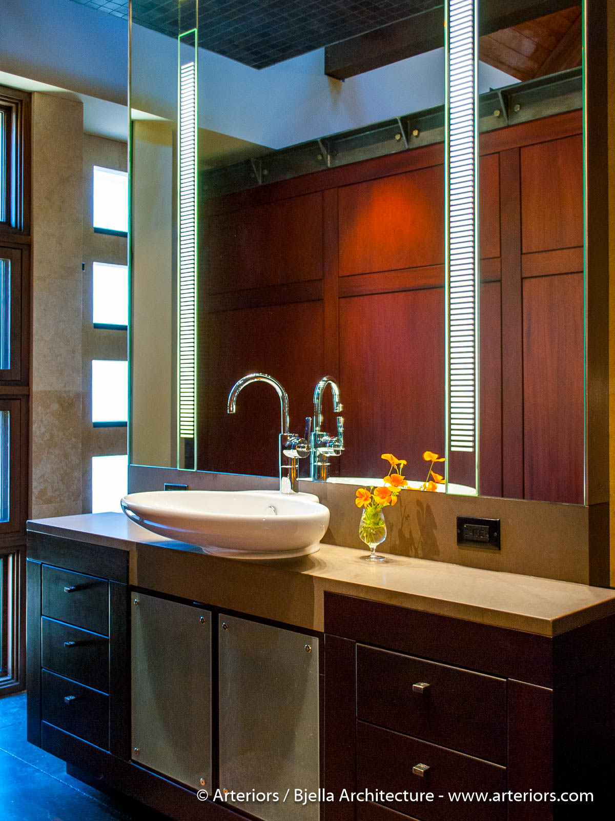 Modern Bathroom Vanity by Arteriors Architects