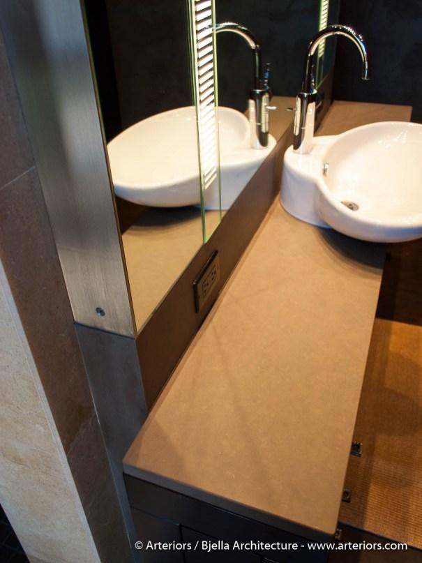 Modern Romantic Bathroom by Arteriors Architects